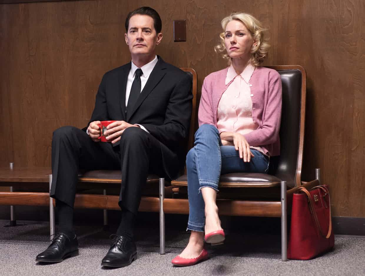 Kyle MacLachlan and Naomi Watts in Twin Peaks: The Return, 2017. Photograph: Suzanne