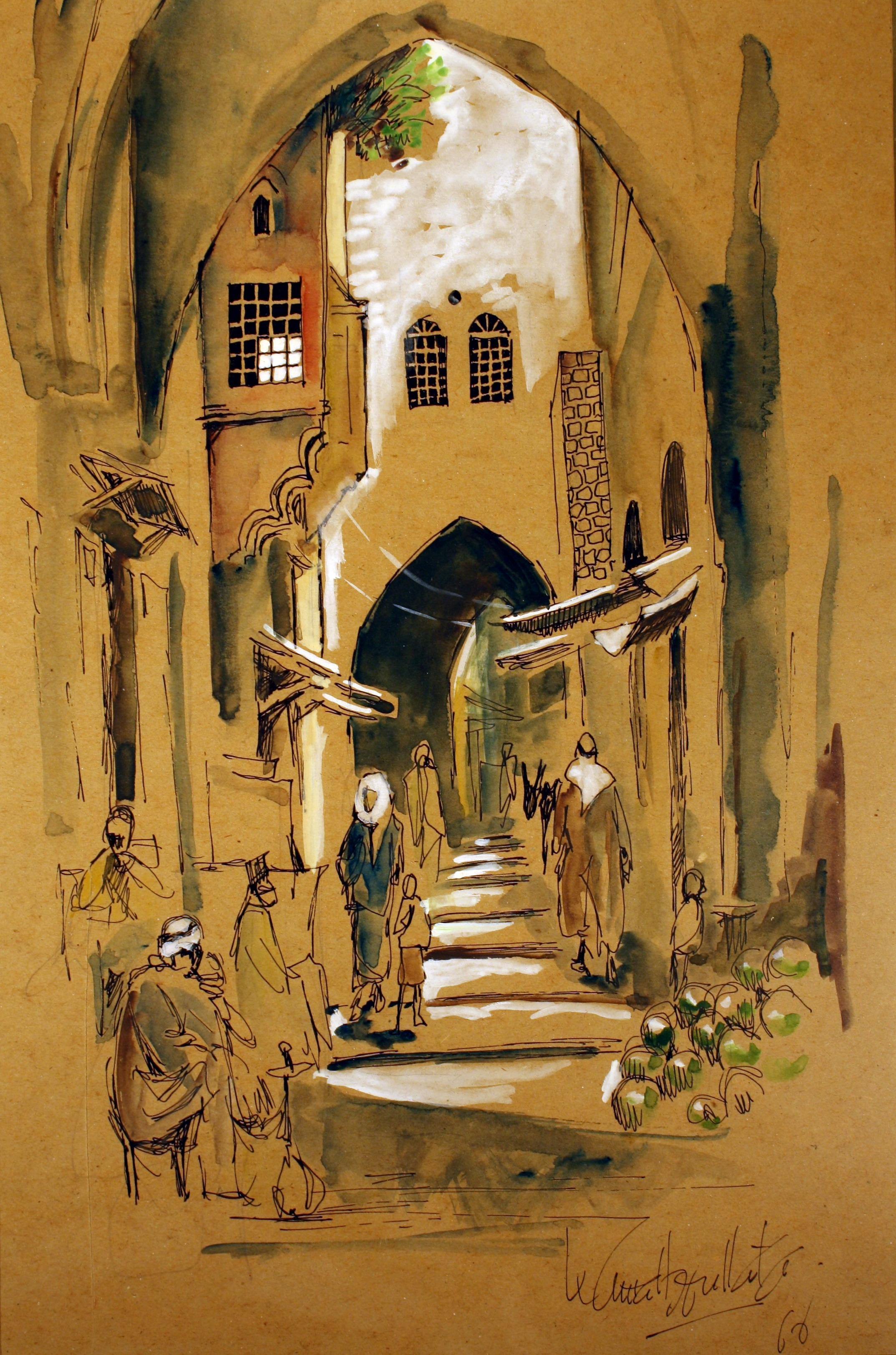 محمود درويش والقدس وسؤال المجندة