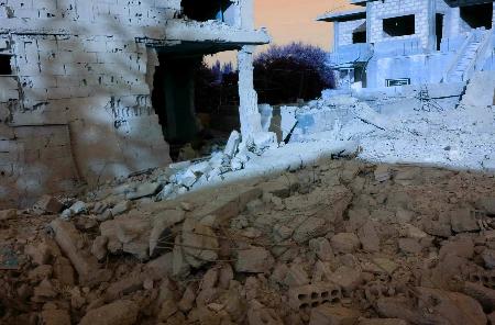 خان الشيح ومنهجة تدمير المخيمات