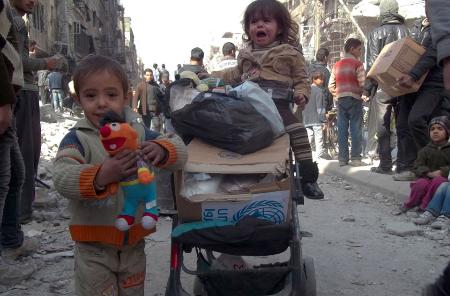 مخيم اليرموك، حكايات اليوم التالي