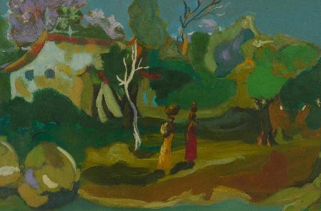 إيقاعات زمن مختلف: معرض استعادي للفنان توفيق عبد العال